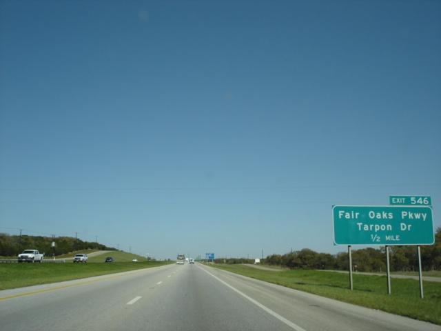 Okroads Interstate 10 Texas Westbound San Antonio
