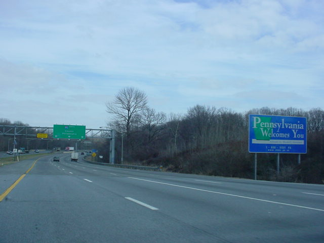 Okroads Com Pennsylvania Highway Guides Interstate 95