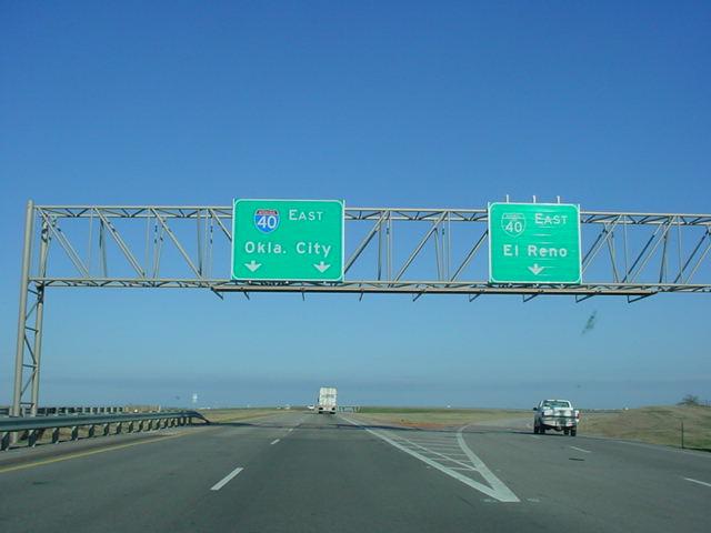 OKRoads Interstate 40