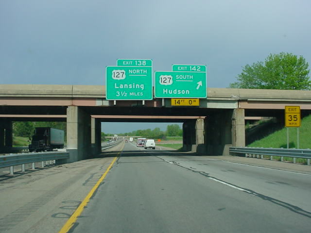 Interstate 94 West at Exit 142