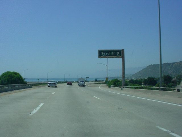 U.S. 101 North at Exit 78 - Seacliff