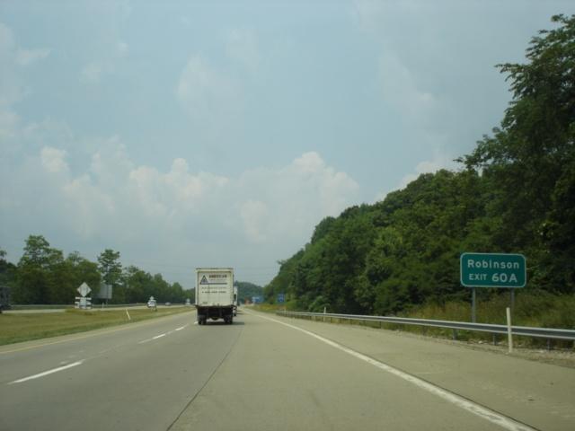 OKRoads -- Interstate 79 Pennsylvania - Northbound - Interstate 279