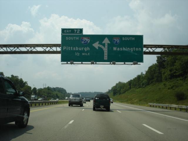 Interstate 79, West Virginia