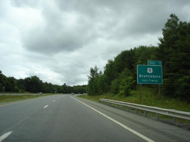 OKRoads -- Interstate 91 Vermont - Northbound