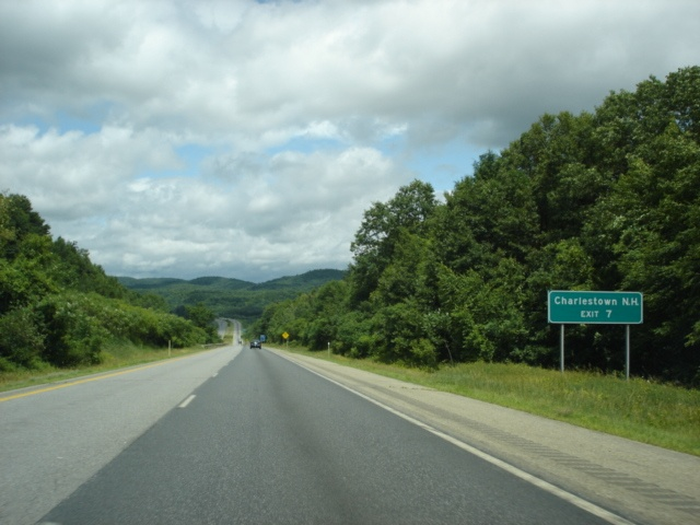 OKRoads  Interstate 91 Vermont  Northbound