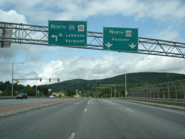 New Hampshire 120 North at Interstate 89 North