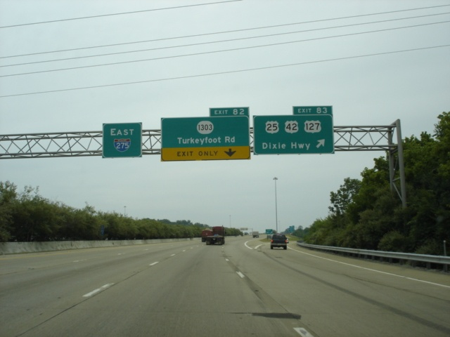 Interstate 275 East at Exit 83
