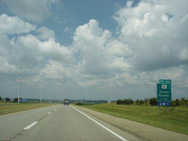 Okroads interstate 90 south dakota for I 90 construction