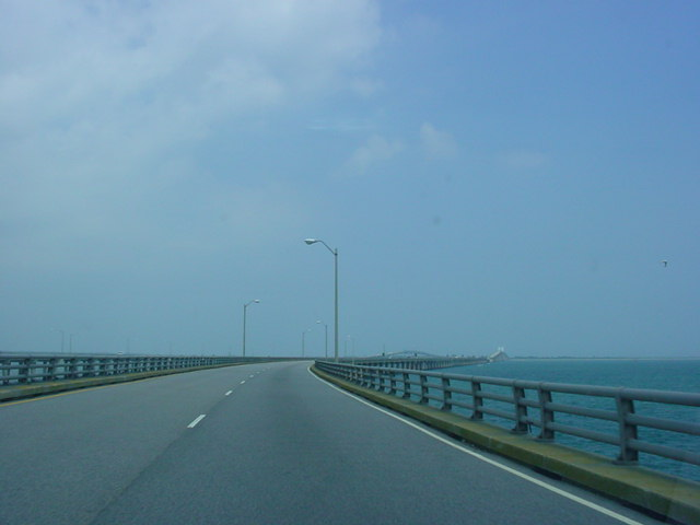 U.S. 13 North as it crosses the Chesapeake Bay