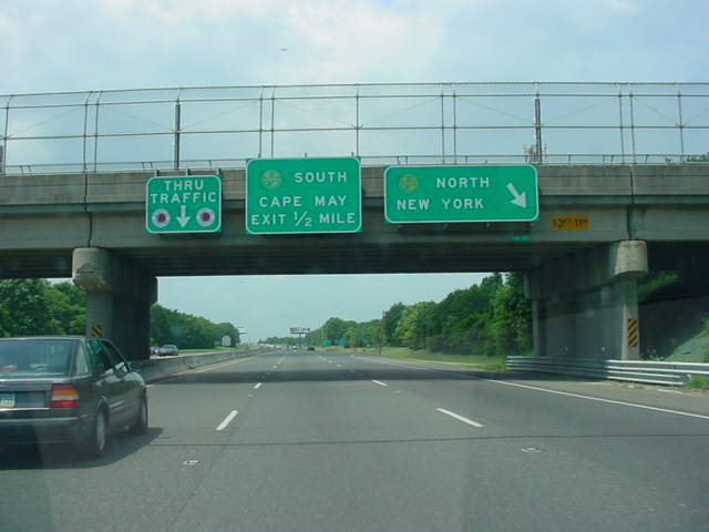 Atlantic City Expressway North at Exit 7N