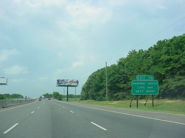 OKRoads.com -- New Jersey Highway Guides -- Atlantic City Expressway
