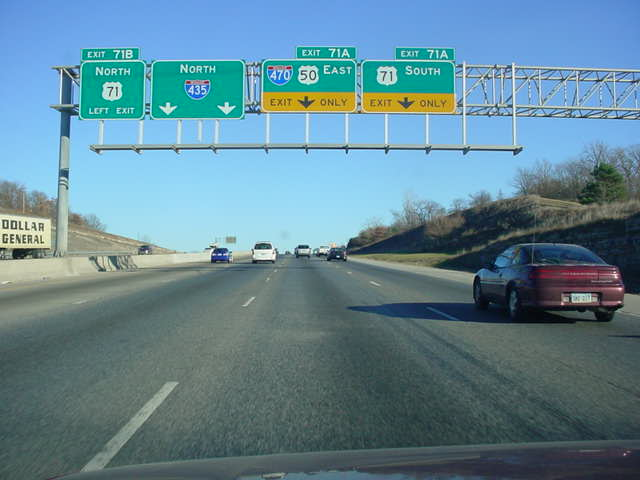 OKRoads -- Missouri Highway Guides -- Interstate 435