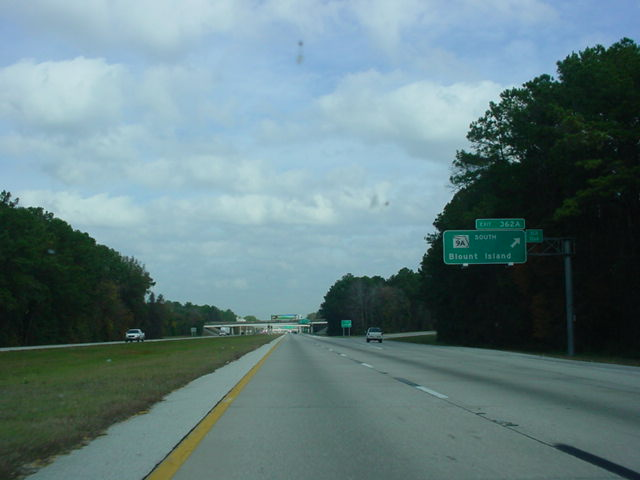 Interstate 95 North at Exit 362A - Florida 9A South