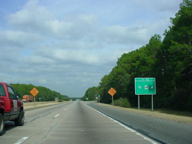 OKRoads -- Florida Tri...I 95 Exit 29 Georgia