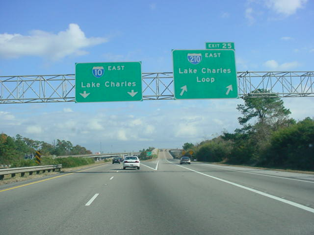 Interstate 10 East at Exit 25 - Interstate 210 East