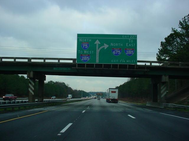 285 75 16 >> OKRoads -- Florida Trip -- Interstate 75 Georgia (Page One)