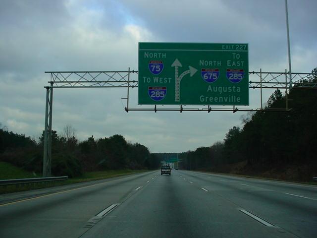 Okroads Florida Trip Interstate 75 Georgia Page One