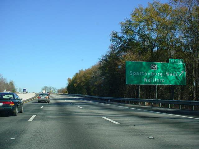 Okroads Florida Trip Interstate 85 South Carolina