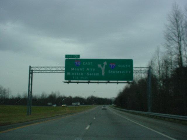 Okroads Florida Trip Interstate 77 North Carolina