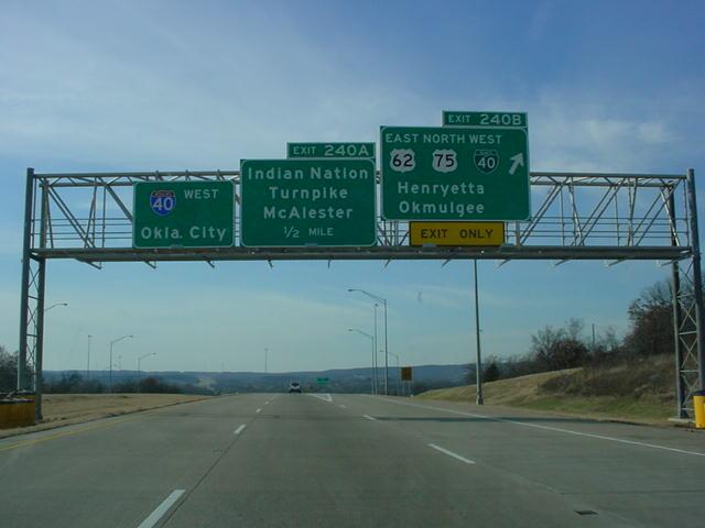 Worksheet. OKRoads  Interstate 40