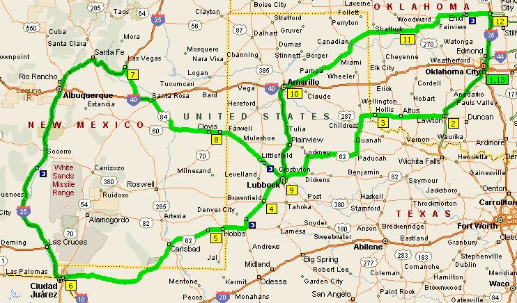 Road Map Of Texas And Oklahoma My Blog - Oklahoma highway map